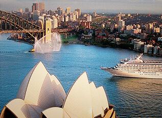 australia cruises - crystal cruises